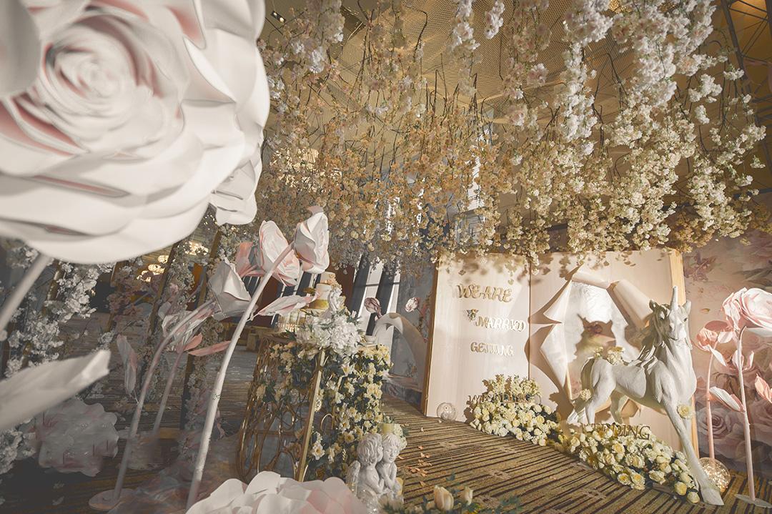 婚礼堂的装修能用多久