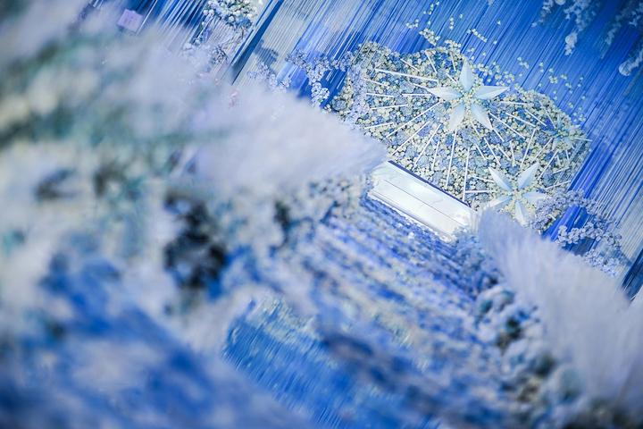 酒店主题婚礼布置