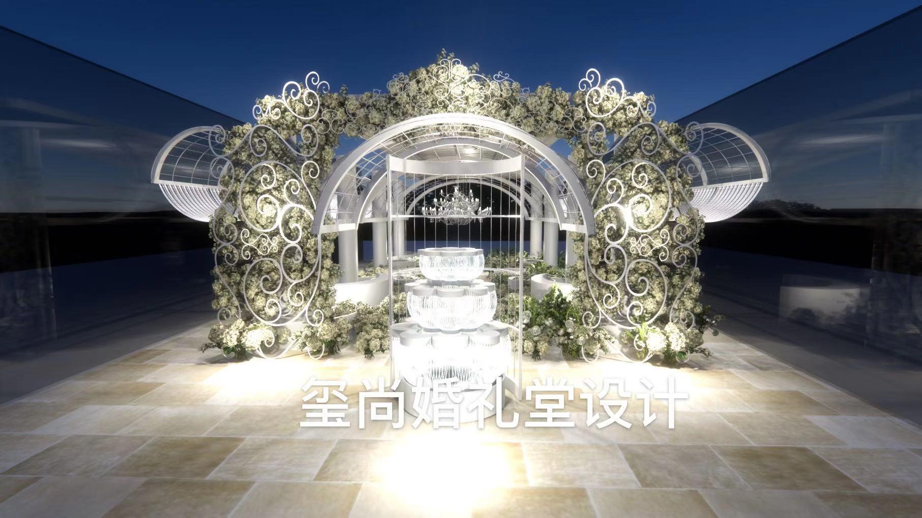南京河西美居酒店婚礼堂改造