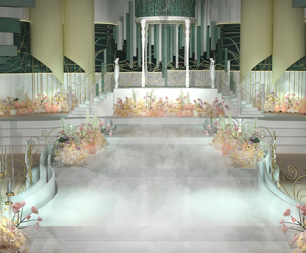 婚礼堂设计改造