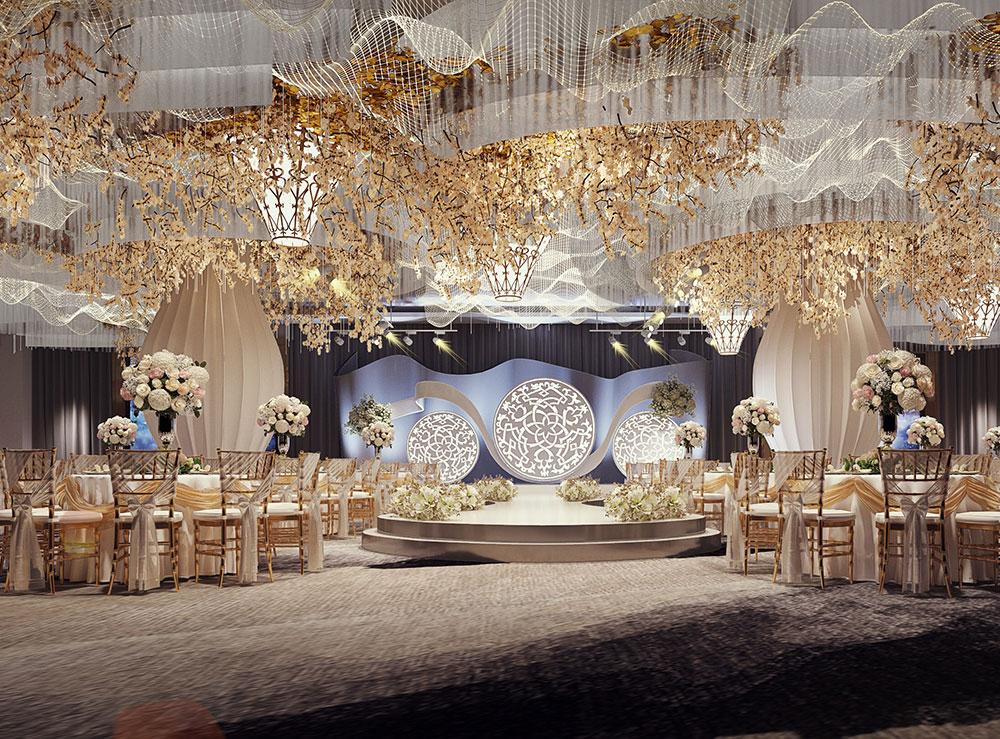 连云港世纪缘国际大酒店婚礼堂施工设计