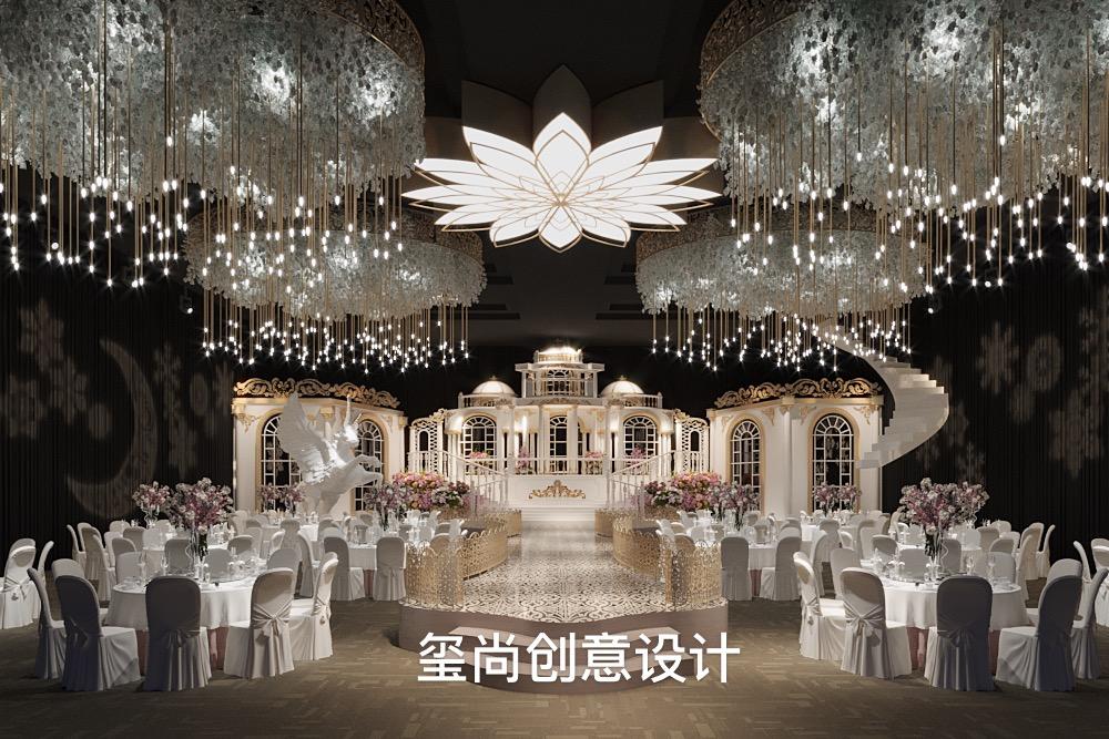 婚礼堂设计案例